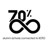 70% alumni are connected to KOTO .jpg