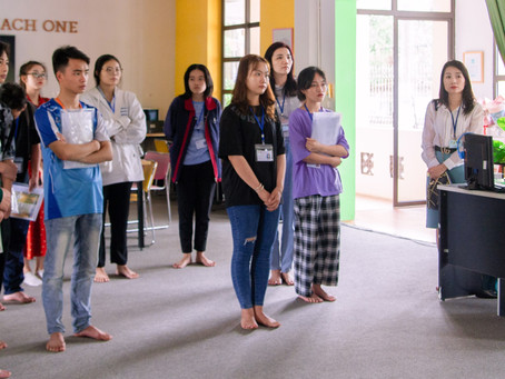 First day of class brings hope to 27 Vietnamese young people!