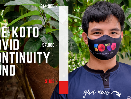 Cooking Up A New Dream: KOTO's Covid Story