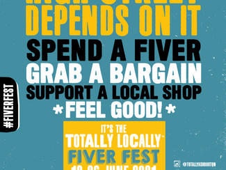 Ashburton goes 'Totally Locally' for Fiver Fest