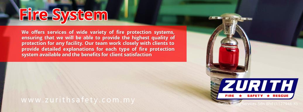 kontrator sistem pemadam api