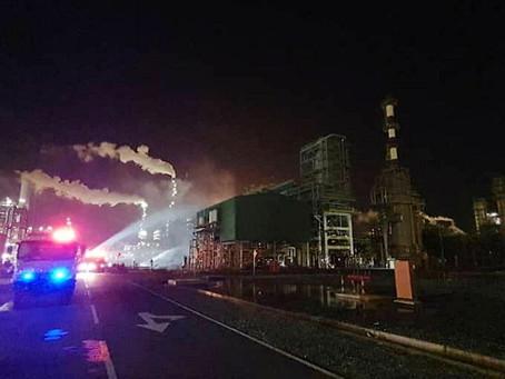 Empat rentung dalam kebakaran di Kompleks Bersepadu Pengerang