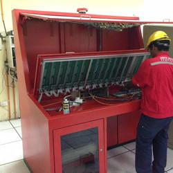 Fire contractor sistem