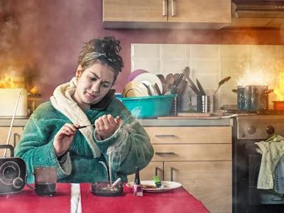 Tips Mengelakkan kebakaran di dapur