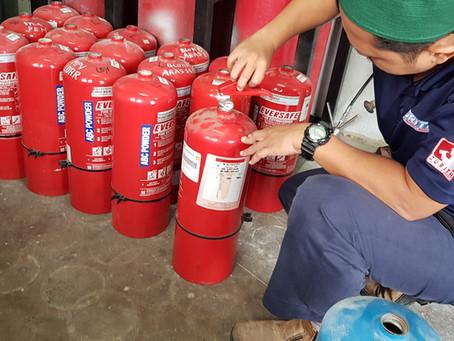 Kenapa alat pemadam api perlu diservis setiap tahun?