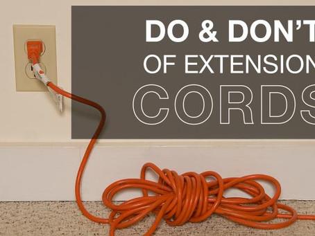 "5 Tips Yang Anda Perlu Tahu Tentang Keselamatan ""Cord"" Elektrik."