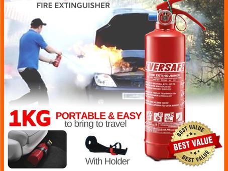 Kepentingan Alat Pemadam Api (APA) di dalam kenderaan.