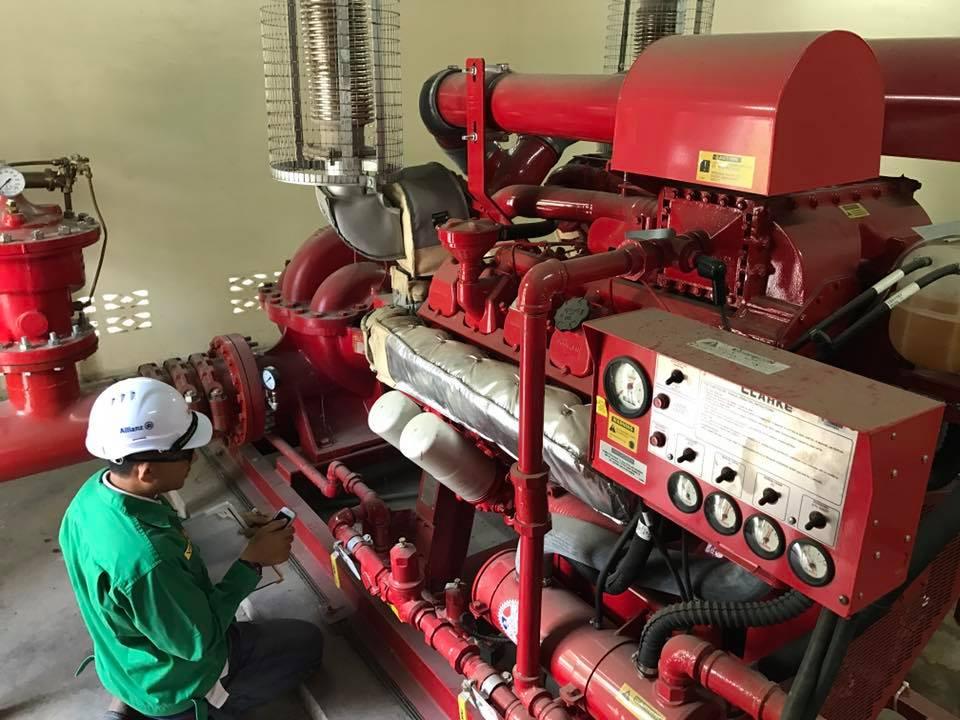 fire contractor pump