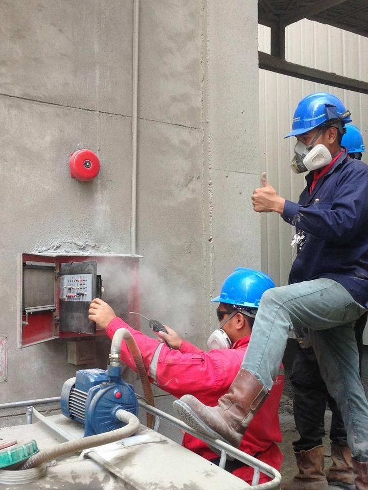 Fire contractor alarm2