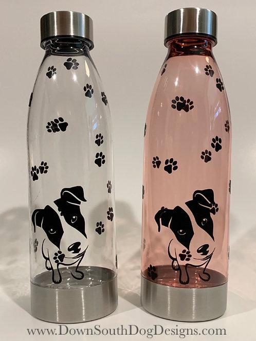 Water Bottle 22oz Dog Paw Prints