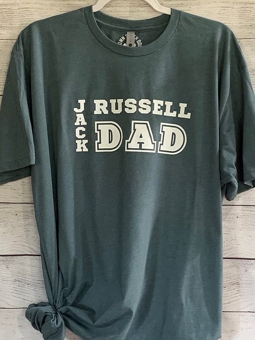 T-Shirt:  Jack Russell Dad