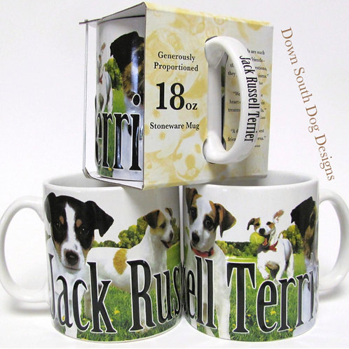 Mug, 18oz Jack Russell Terrier