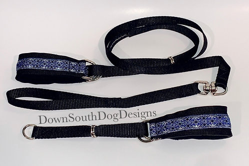 Martingale: Blue and Silver