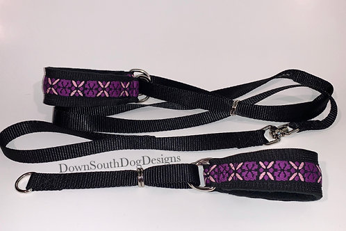 Martingale: Purple and Pink