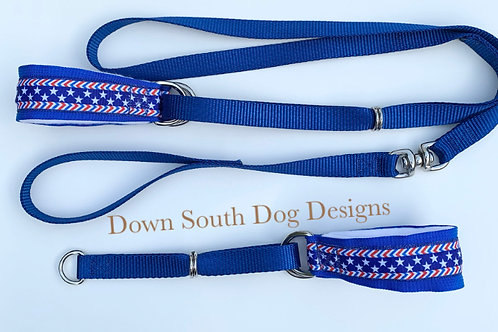 Martingale: Stars and Stripes on Blue