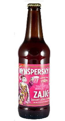 """Пиво """" Kynšperský Zajíc"""" Красное специальное"""