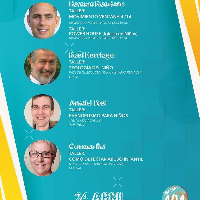 Congreso Ministerios Infantiles Ventana 4/14-Virtual