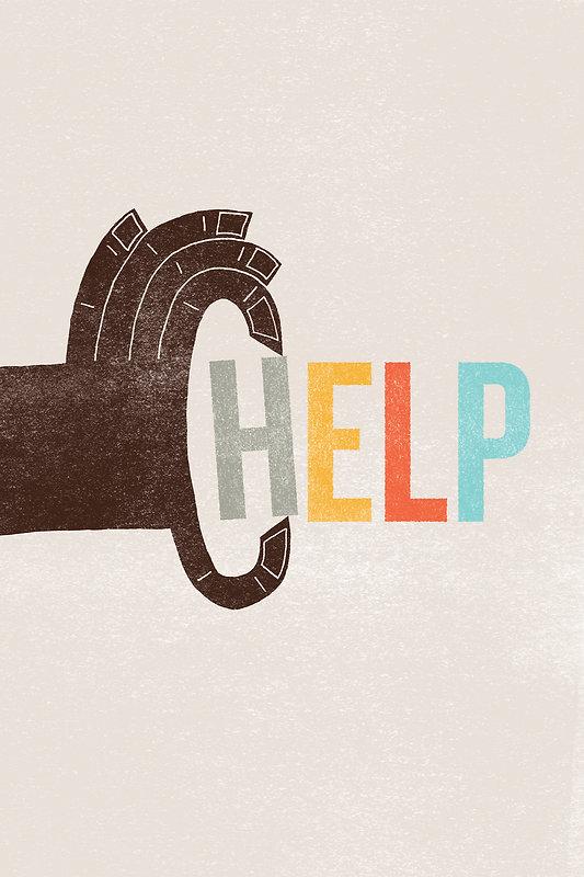 Help Ink Poster