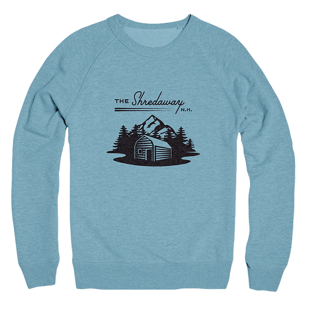 The Shredaway Blue Sweatshirt Design