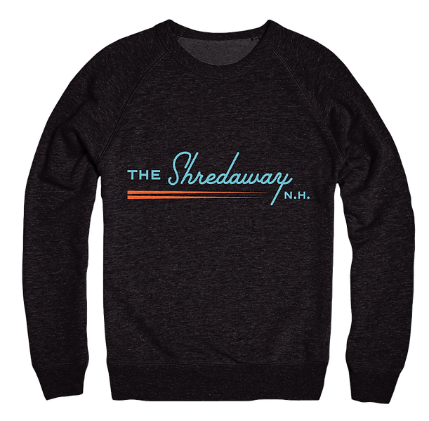 The Shredaway Black Sweatshirt Design