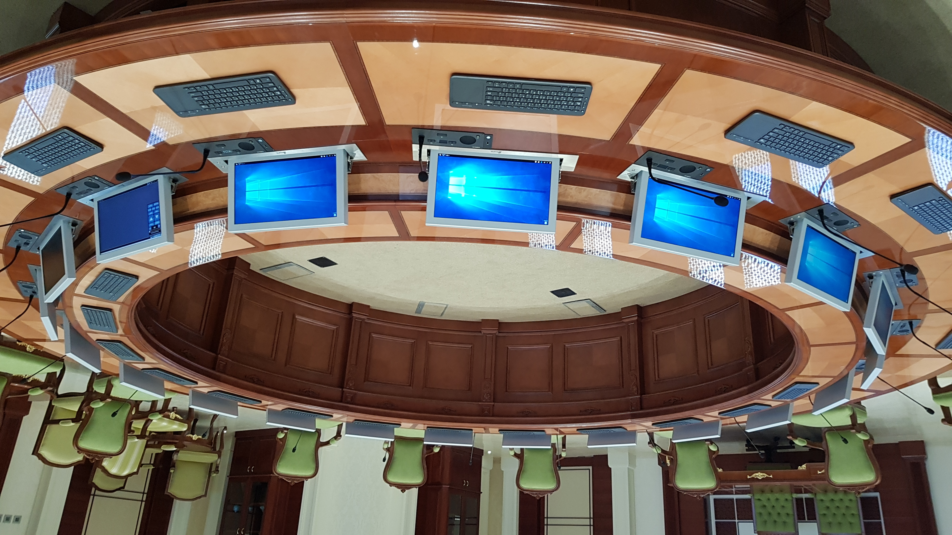 State of the art boardroom system