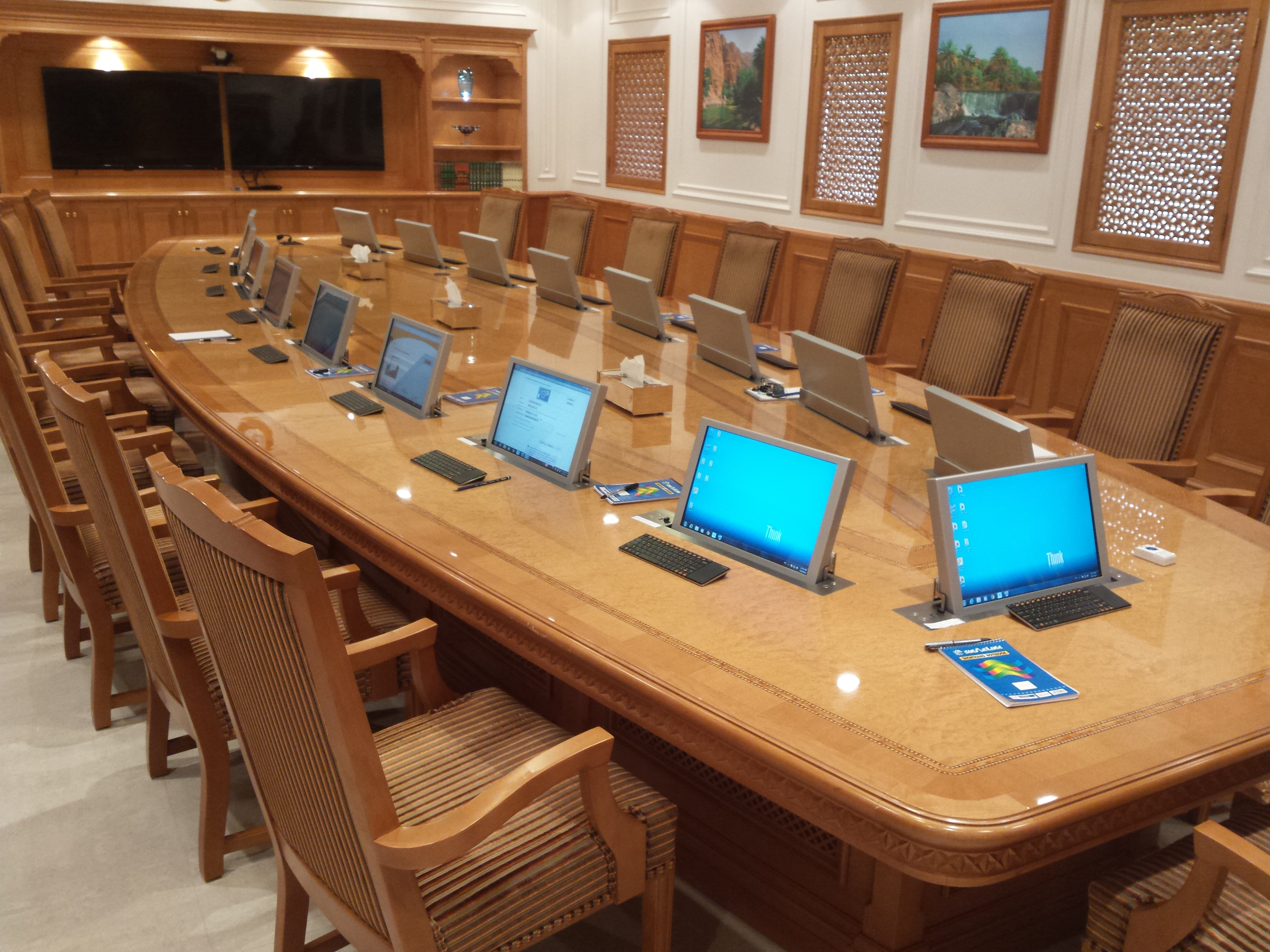 VIP collaboration rooms
