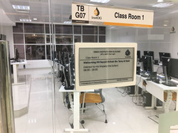 Wireless Room Signage System