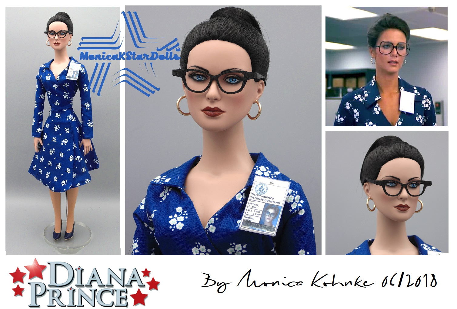 Diana Prince 22 inches