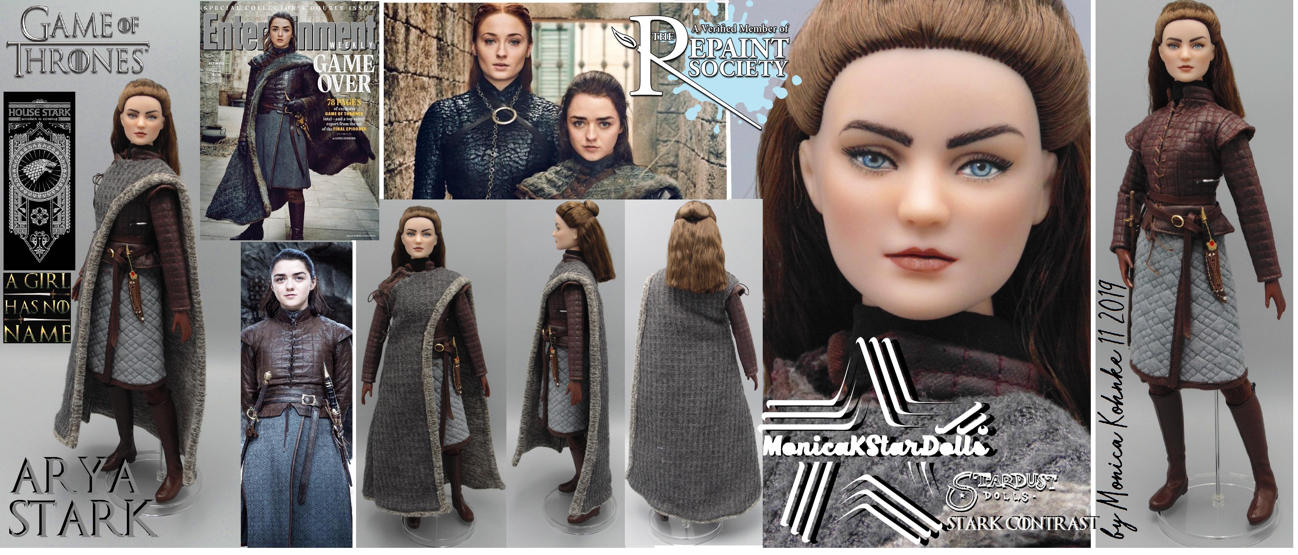 Arya Stark, Season 8