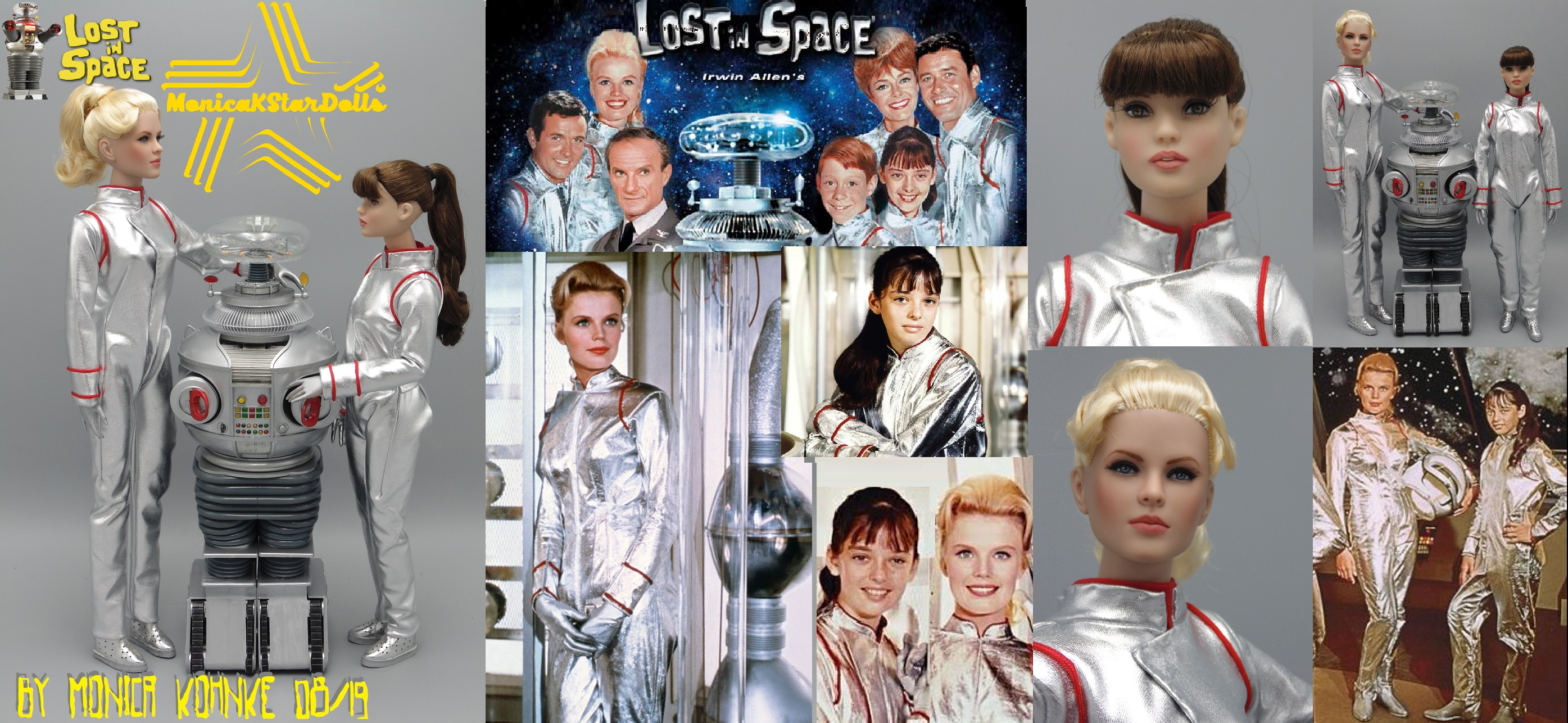 Judy and Penny Robinson, Lost in Space s