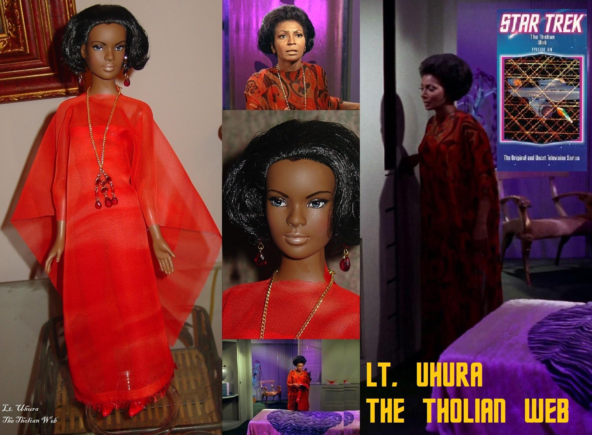 Uhura, The Tholian Web