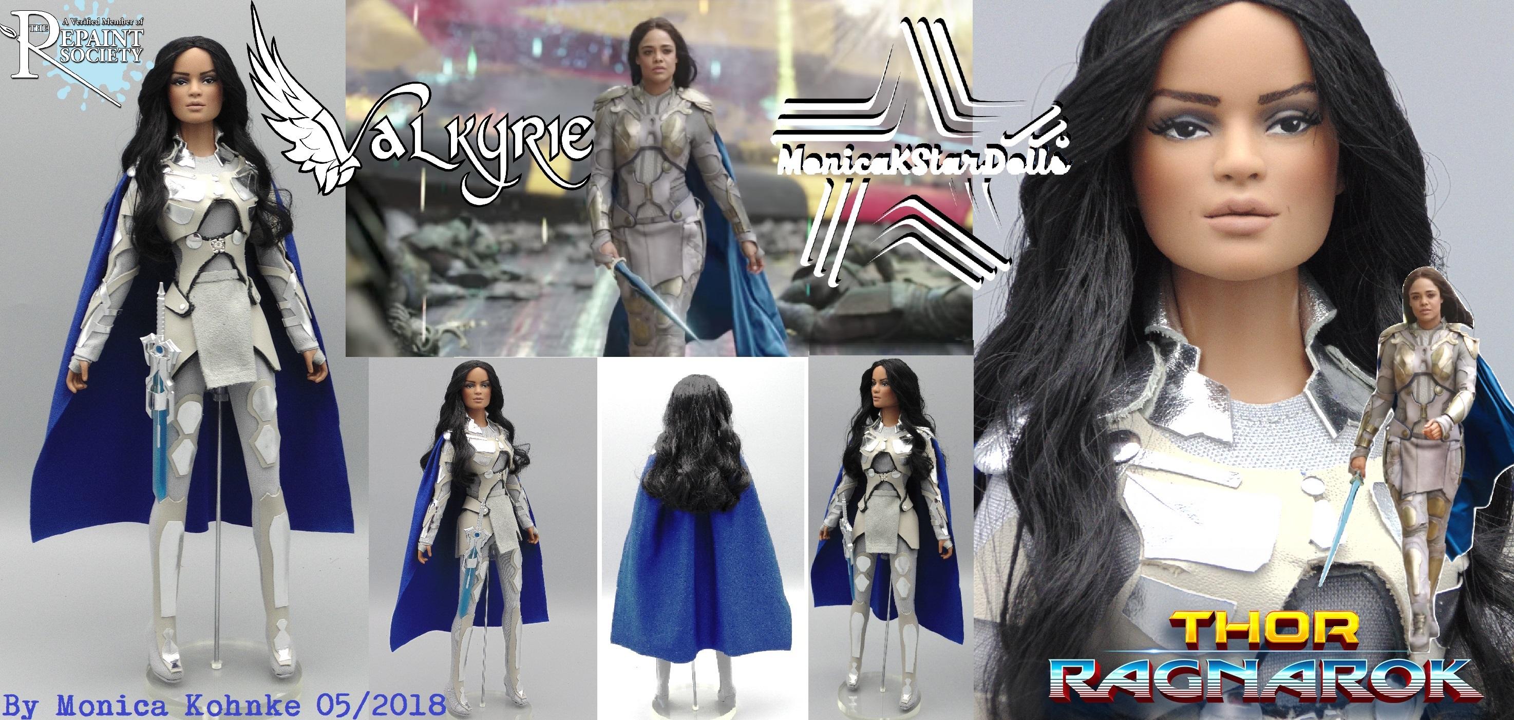 Thor Ragnarok Valkyrie Battle