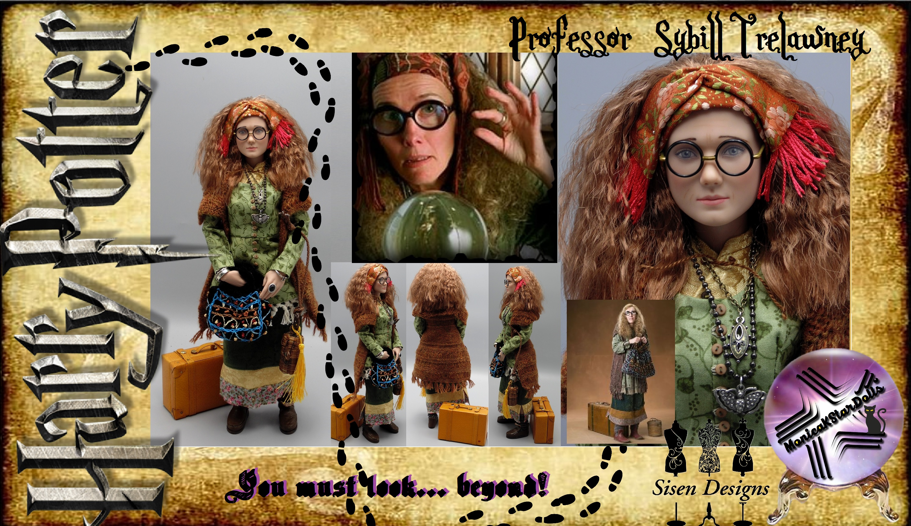 Professor Sybill Trelawny Harry Potter