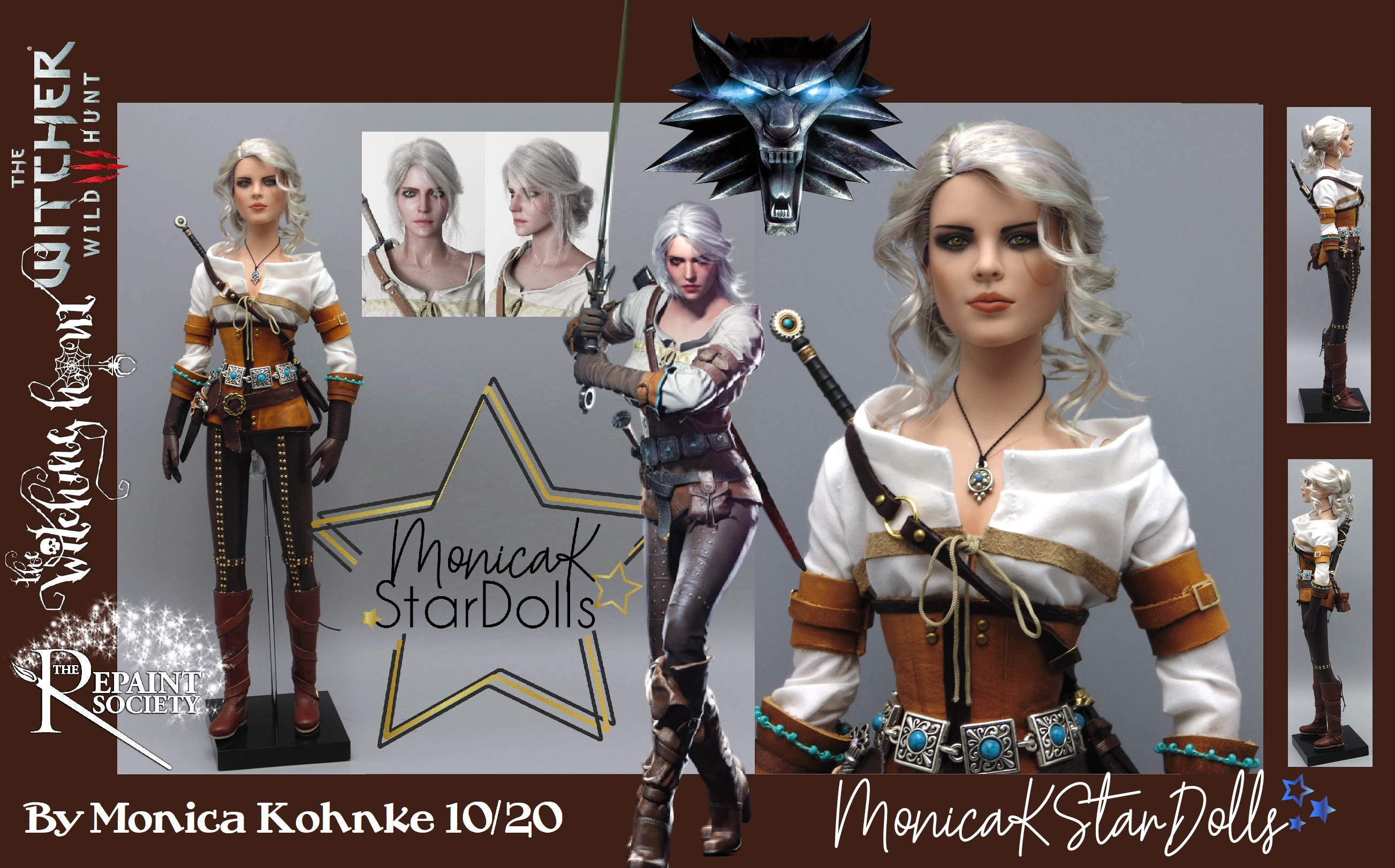 Ciri the Witcher the Wild Hunt 3