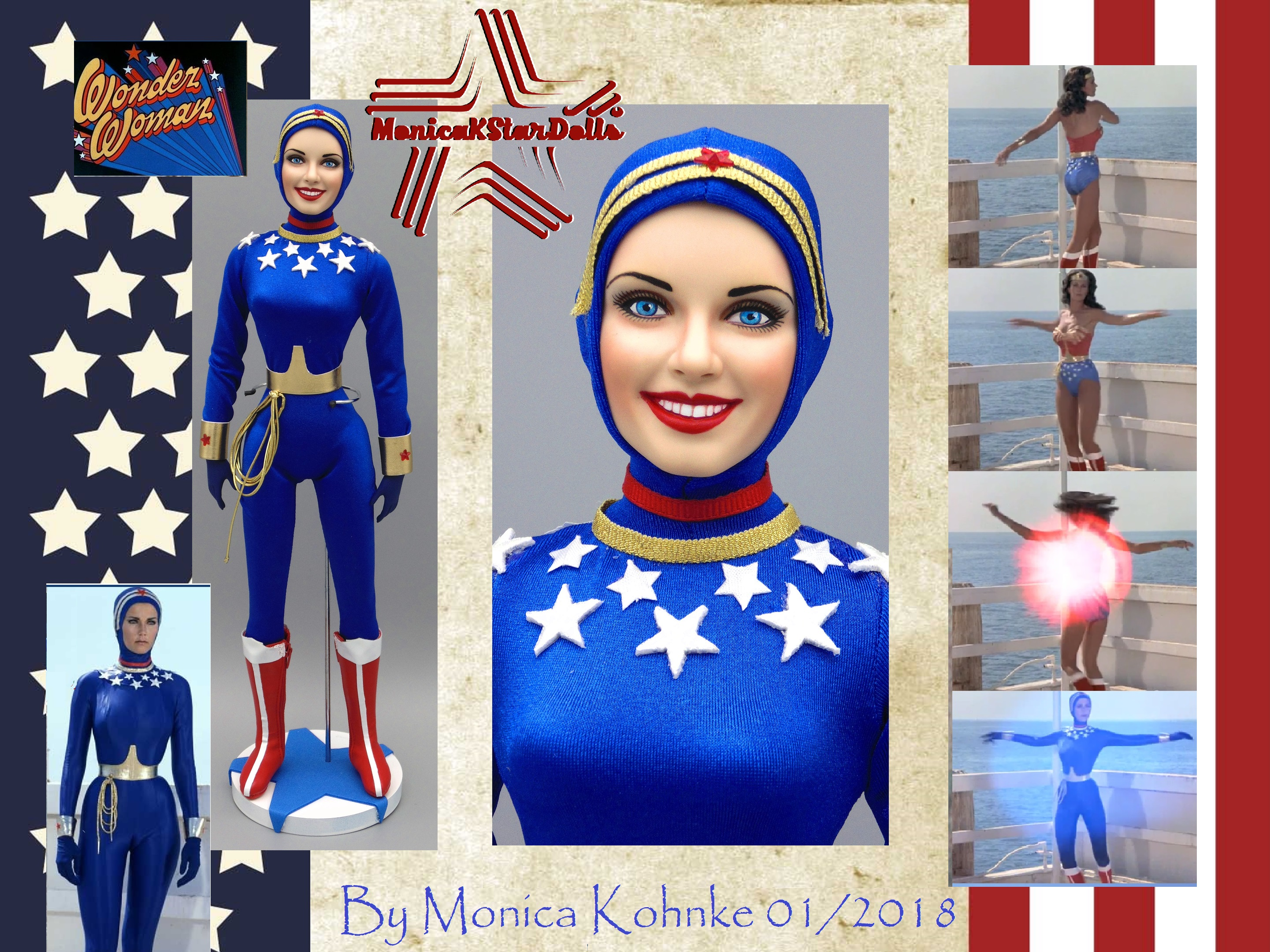 Lynda Carter as WW Scuba suit