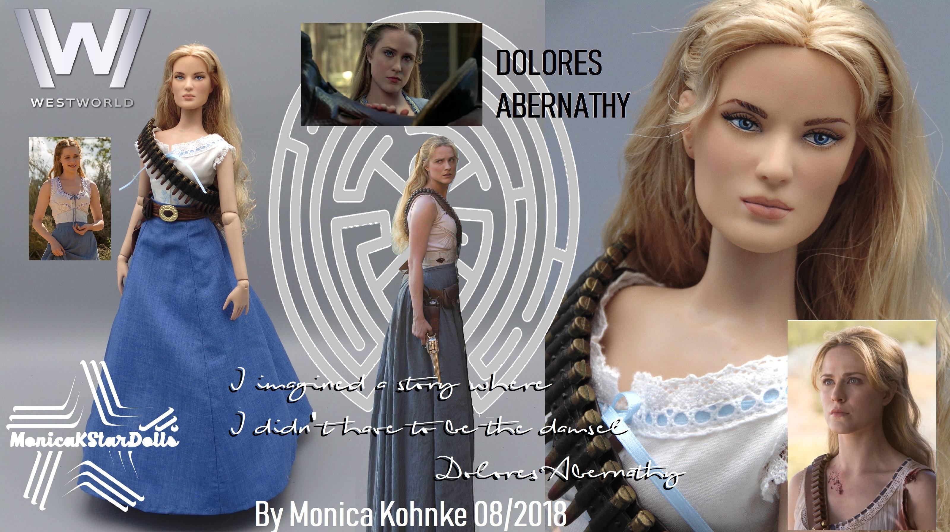 Dolores Abernathy Westworld