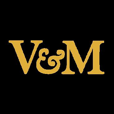 VincentAndMorgan_AlteranteLogo_VM_Yellow