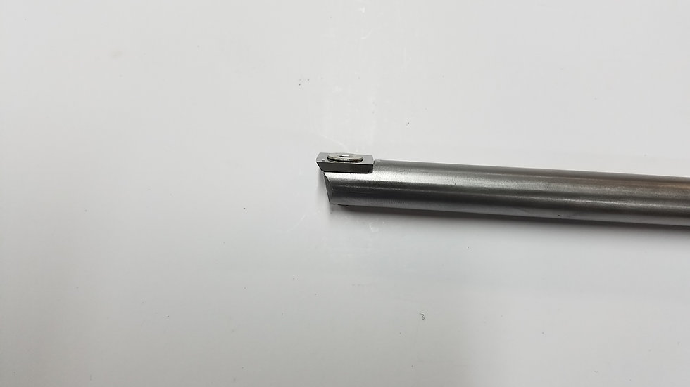 """1/2"""" Rougher Round  Stainless Steel Bar with 15mm Roughing Insert"""