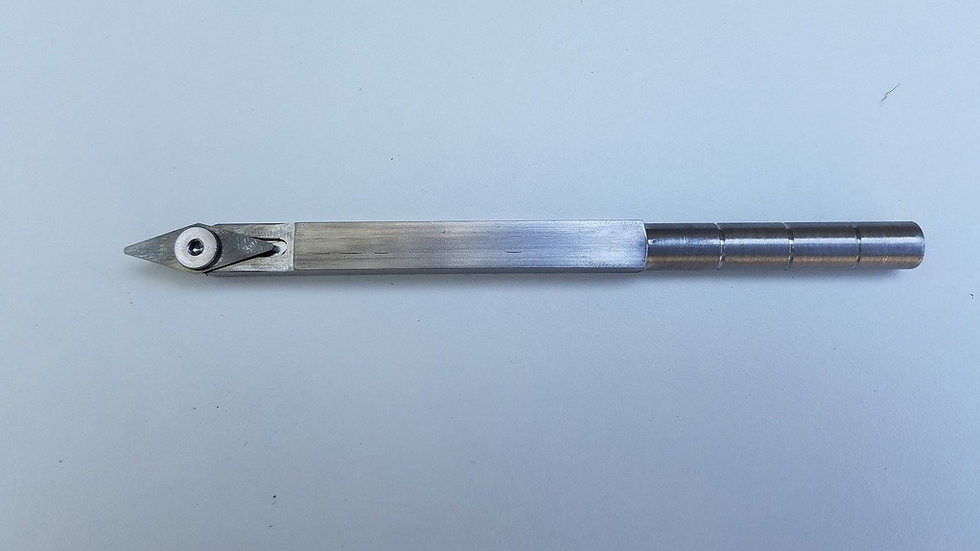 Mini Diamond Detailer on 3/8 Stainless steel bar