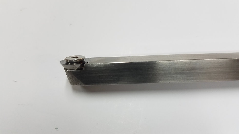 "3/8"" Finisher Square Stainless Steel Bar with 12mm Finisher Insert"