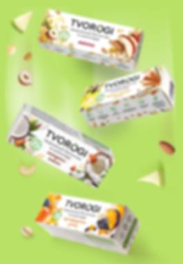 Новая марка твоожных сырков. Современный дизайн упаковки.