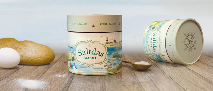 Уникальный дизайн упаковки для морской соли