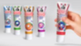 Разработка дизайна линейки упаковок зубной пасты