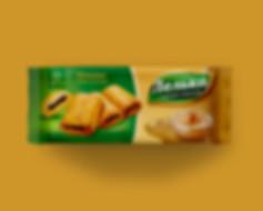 Классический дизайн упаковки печенья