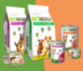 Дизайн упаковки кормов для домашних животных