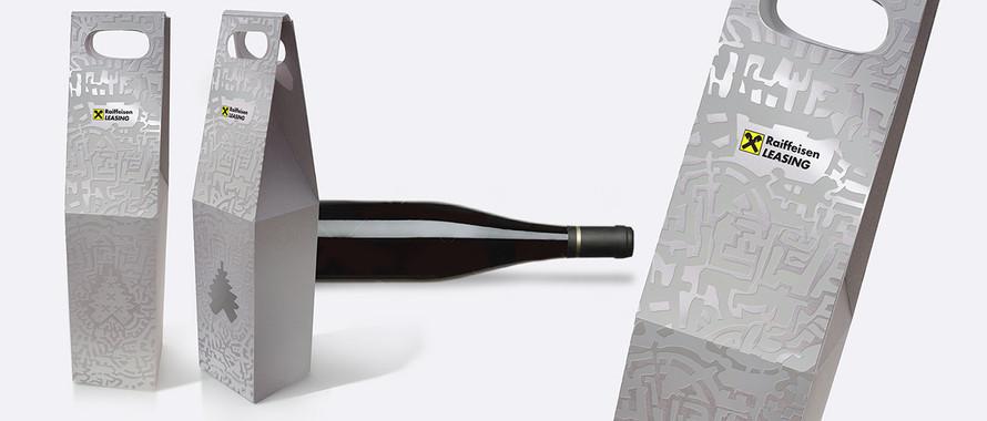Дизайн упаковки для бутылки
