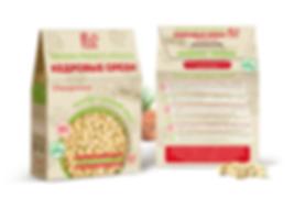 Дизайн упаковки орешков