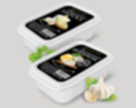 Дизайн этикетки для готовых закусок