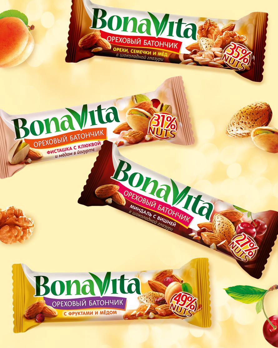 Дизайн упаковки ореховых батончиков