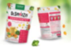 Яркий дизайн пищевой упаковки